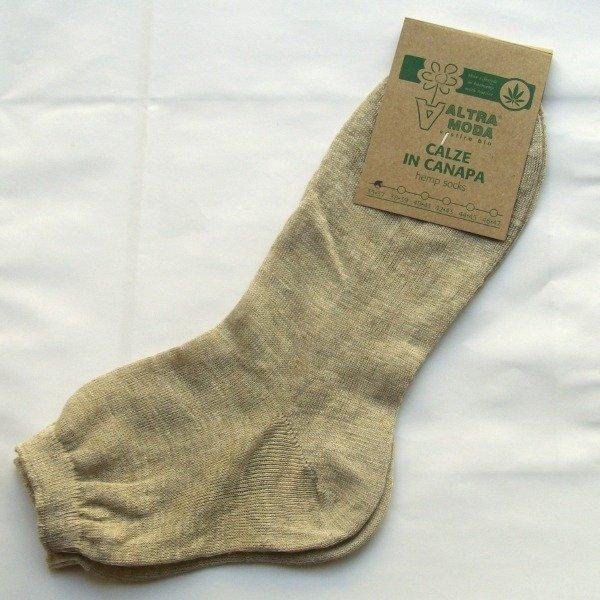 Ankle socks 100% hemp