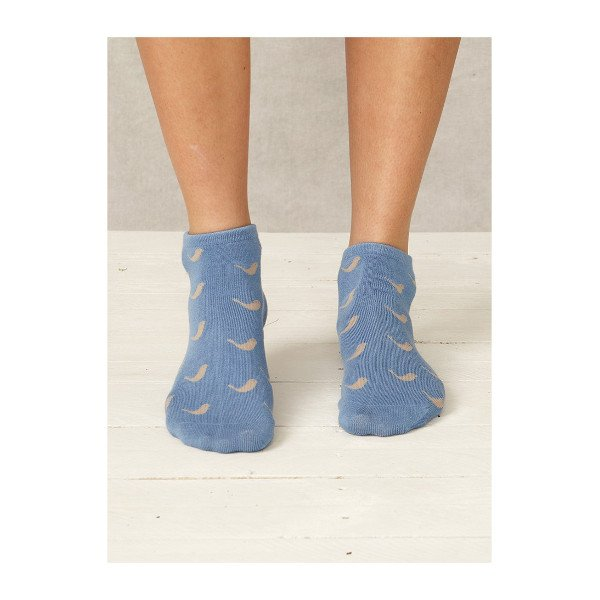Ankle socks Dove in bamboo