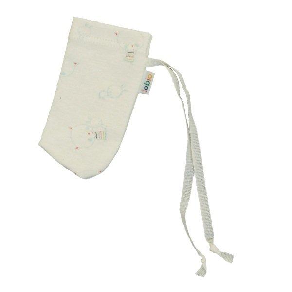 Anti scratch mitts in organic cotton
