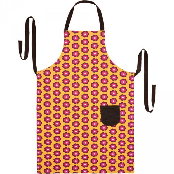 Apron Petunia in organic cotton