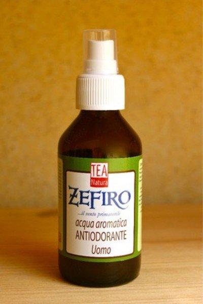 Aromatic water organic deodorant man