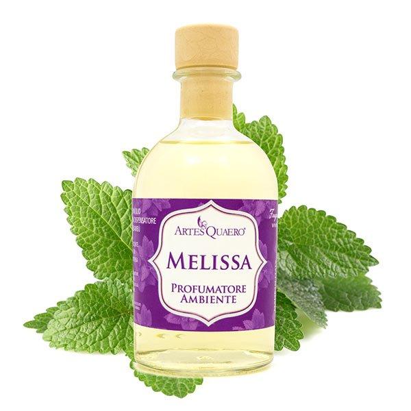 Profumatore ambiente in olio, all'essenza di Melissa, lunga durata