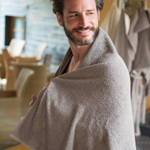 Asciugamano doccia in cotone bio