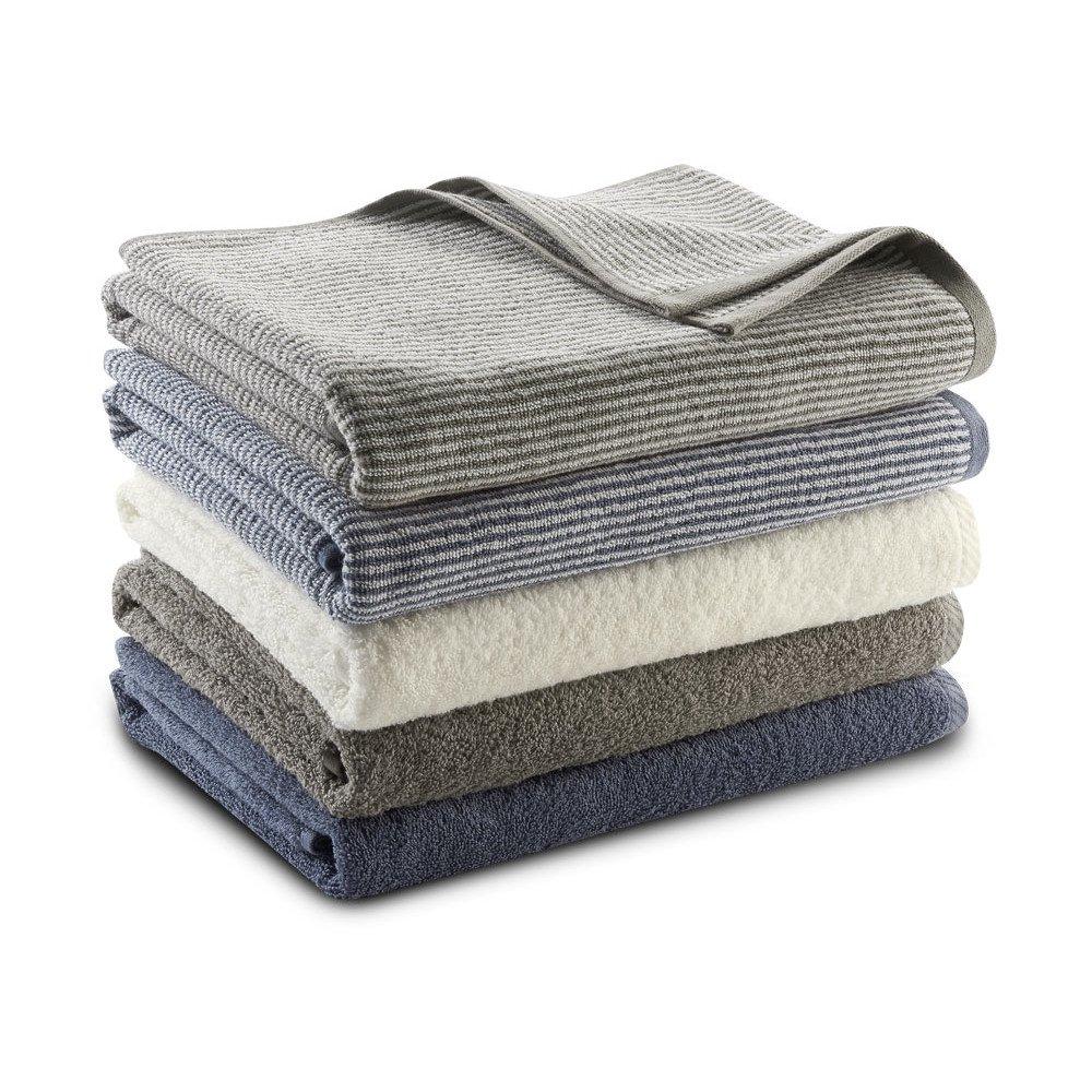 Asciugamano doccia in cotone bio Living Crafts