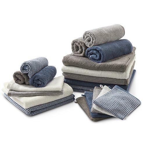 Asciugamano mani e viso in cotone bio Living Crafts