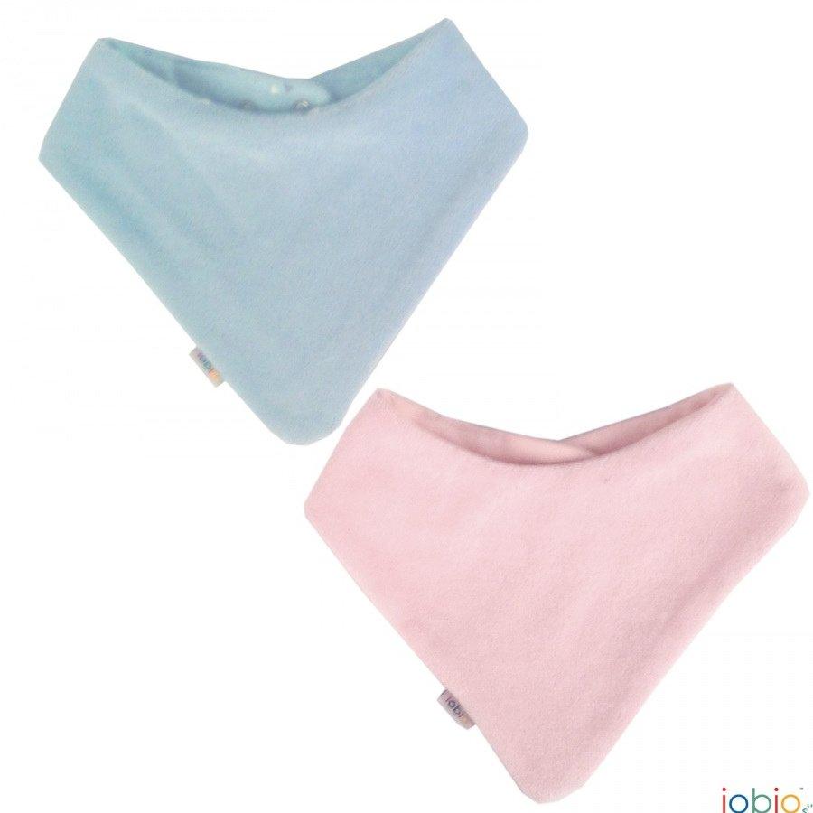 Baby bandana in organic cotton chenille