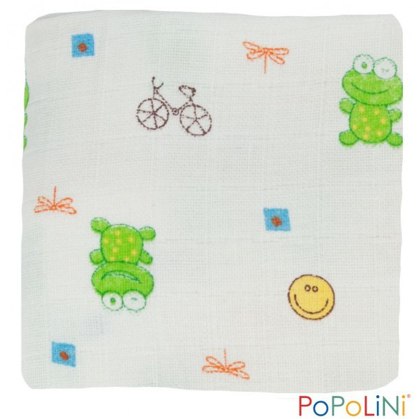 Baby cleaning wipes in organic cotton Popolini