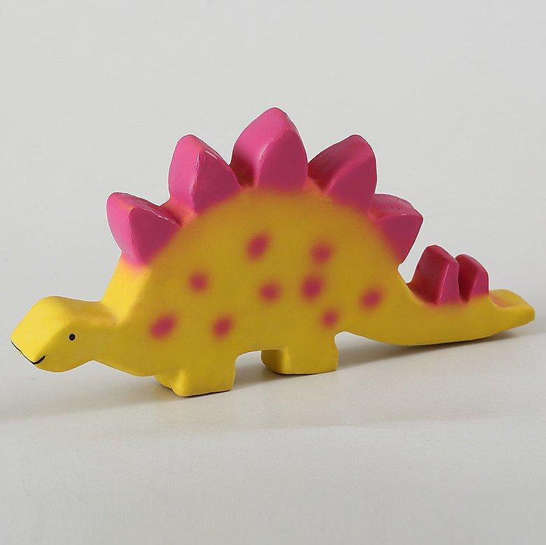 Baby Dinos in caucciù naturale Stegosauro