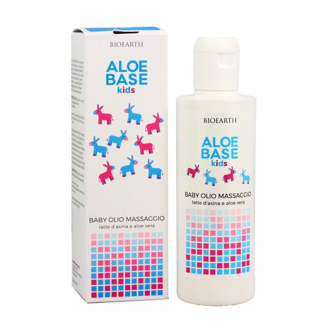 Baby Massage Oil With Aloe and Donkey Milk