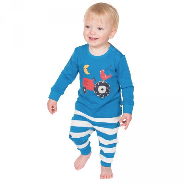 Baby pyjamas Little Long John Frugi in organic cotton