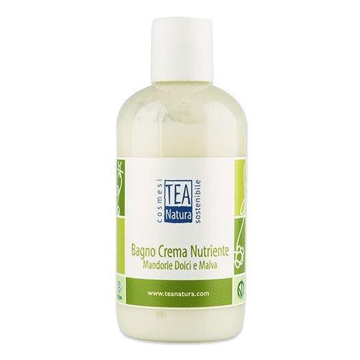 Bagno Crema nutriente Mandorle Dolci e Malva, Vegan