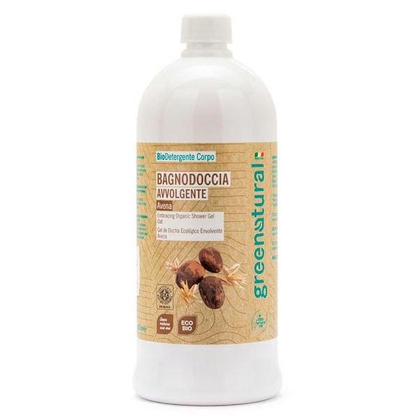 Bagnodoccia delicato eco-bio Avena e Karité - 1 lt