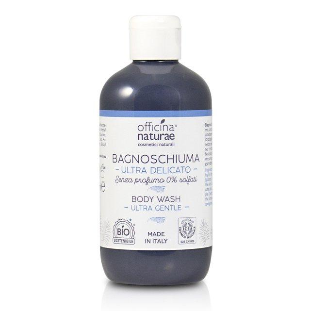 Bagnoschiuma ultra delicato senza profumo EcoBio Vegan