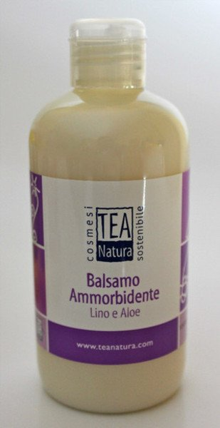 Balsamo ammorbidente al lino e aloe