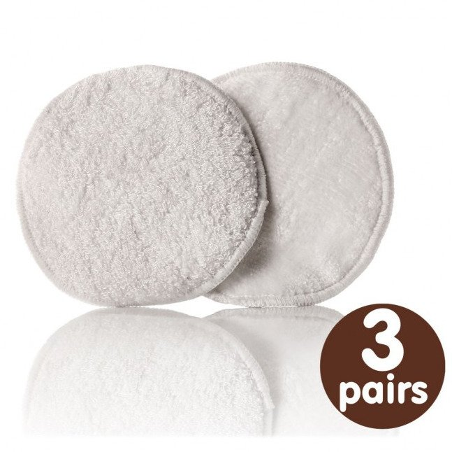 Bamboo nursing pads - pack of 6 pieces