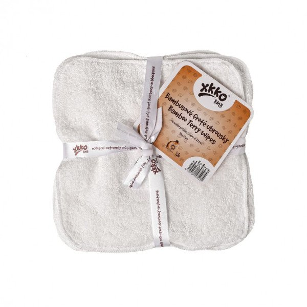 Bamboo terry wipes - 5 pieces