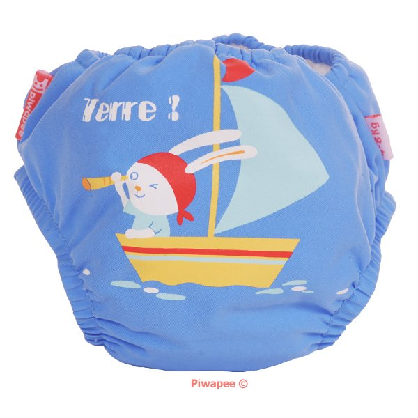 Bathing trunks diaper Rabbit Piwapee