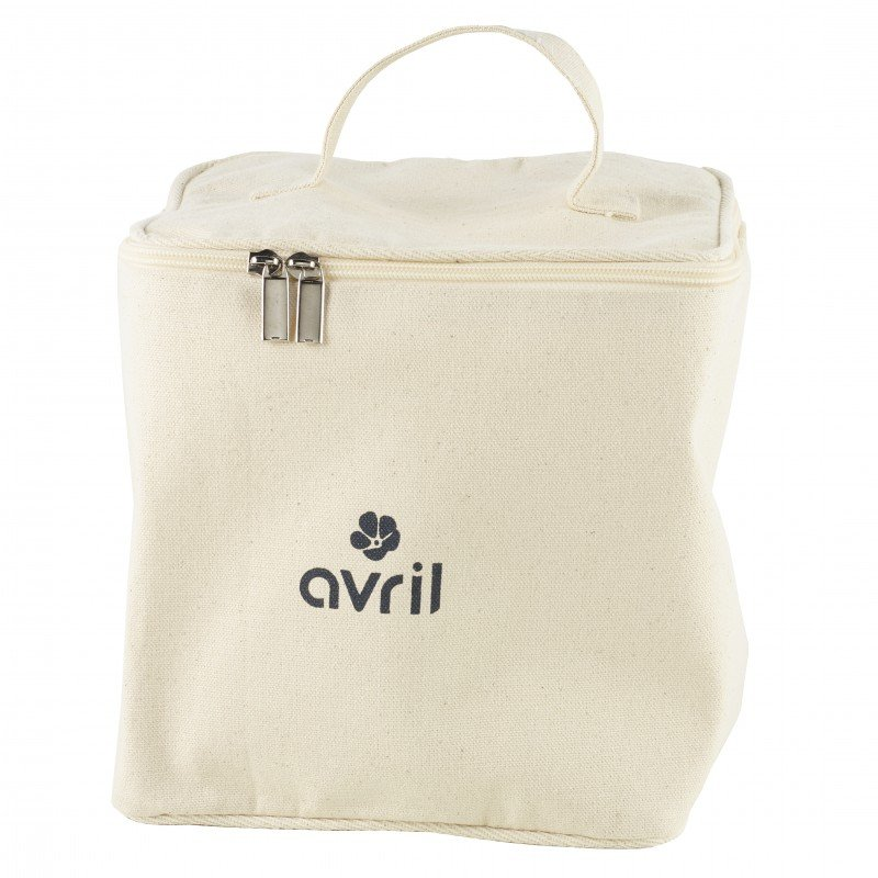 Beauty case Avril in organic cotton