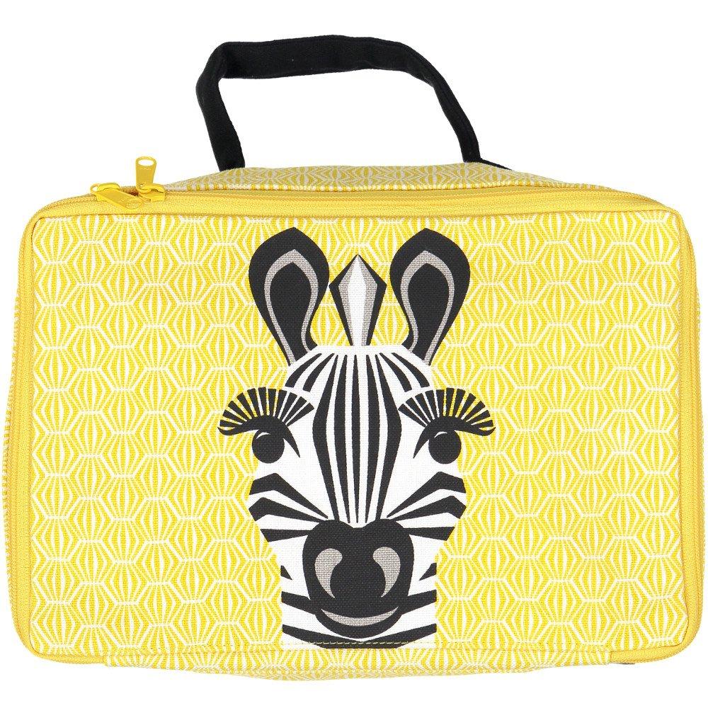 Beauty case Borsetta Zebra in cotone biologico