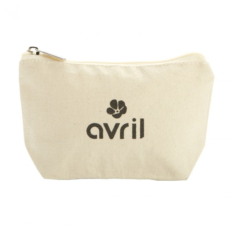 Big make-up case Avril in organic cotton