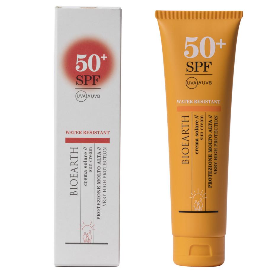 Bioearth Sun Crema Solare resistente all'acqua - SPF50+