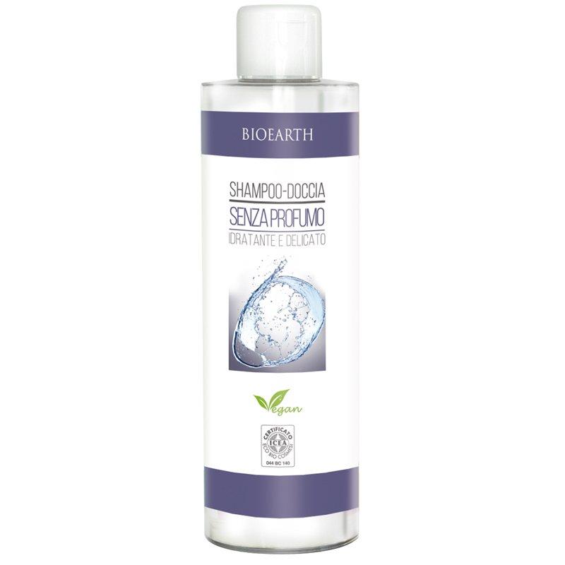 Bioearth Family - Shampoo doccia senza Profumo