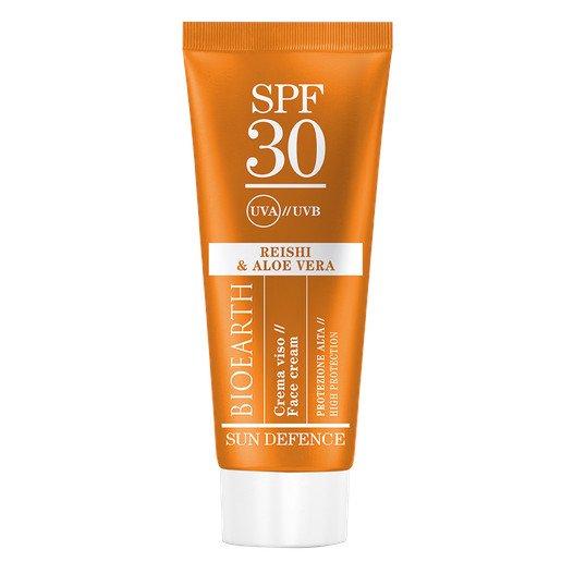 Bioearth Sun Defence Crema Solare Viso - SPF30