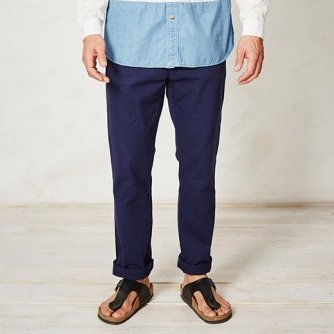 PIERRE ORGANIC COTTON TROUSERS