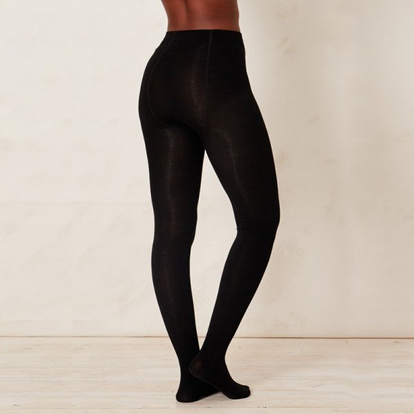 Black Tights in bamboo