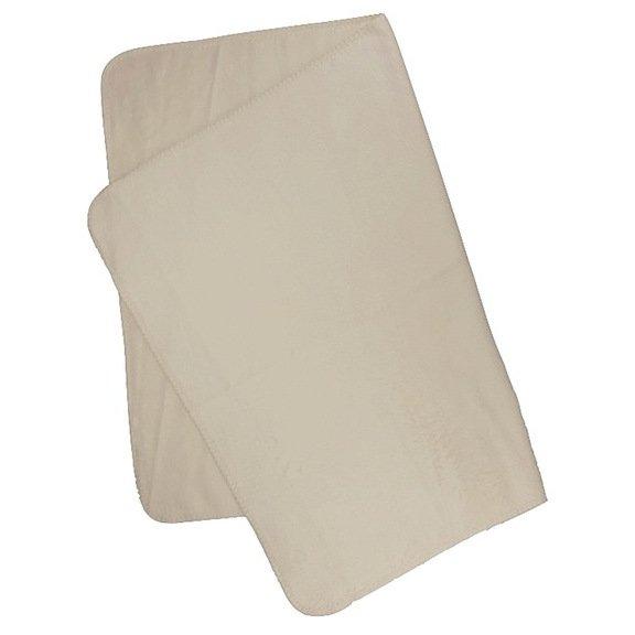 Blanket Anne in 100x150 natural organic cotton fleece