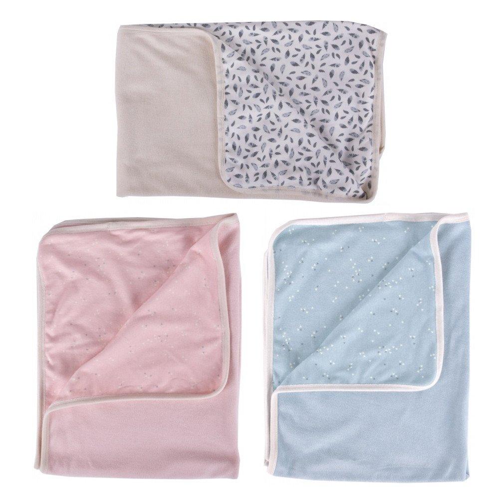 Blanket in organic cotton chenille
