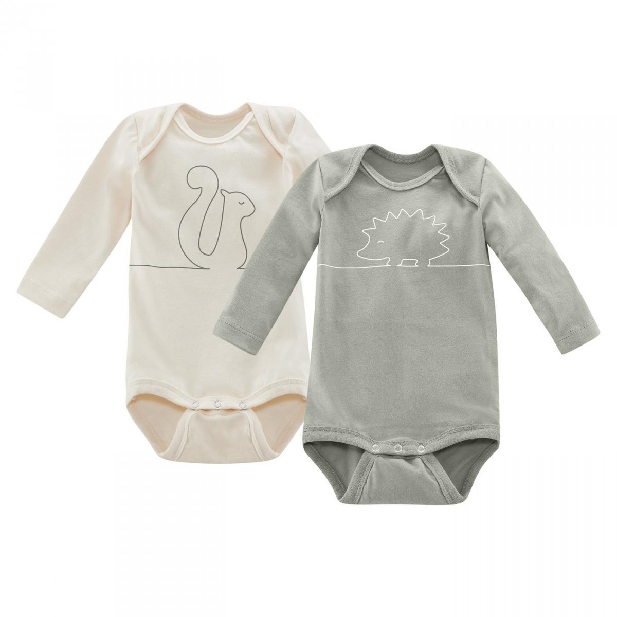 Body Wood in organic cotton-pack of 2