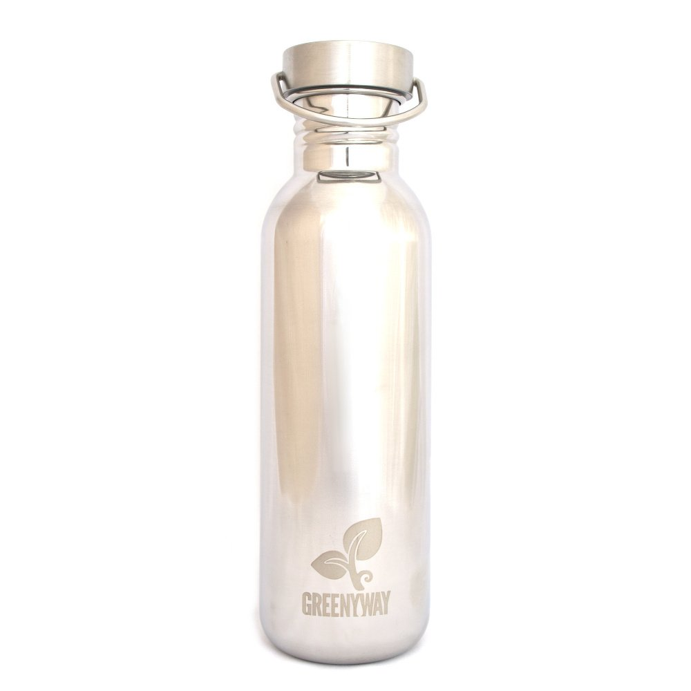 Borraccia Greenyway Shiny in acciaio inox 750 ml