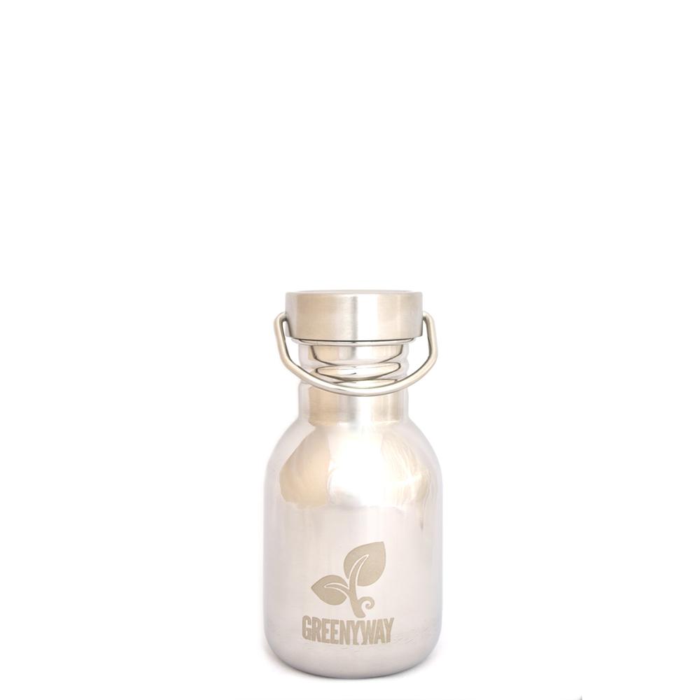 Borraccia Greenyway Shiny in acciaio inox 350 ml