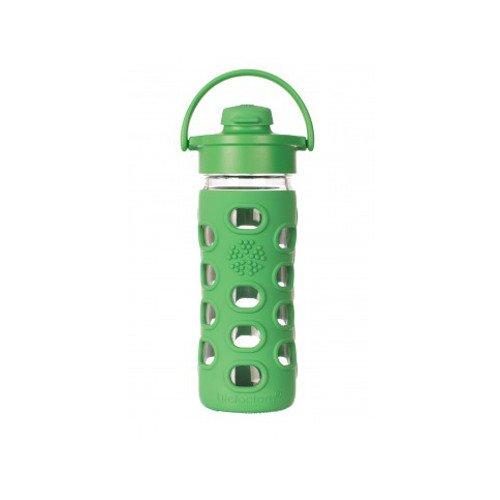 Lifefactory - Borraccia in vetro Flip Cap 350 ml