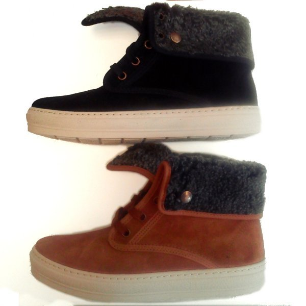 Bota Cuello winter shoes in suede