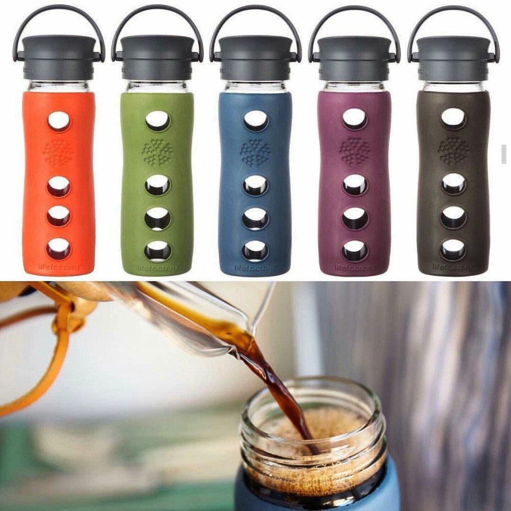 Caffé Mug - Bottiglia termica in vetro 475 ml