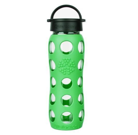 Lifefactory - Bottiglia in vetro Classic Cap 650 ml