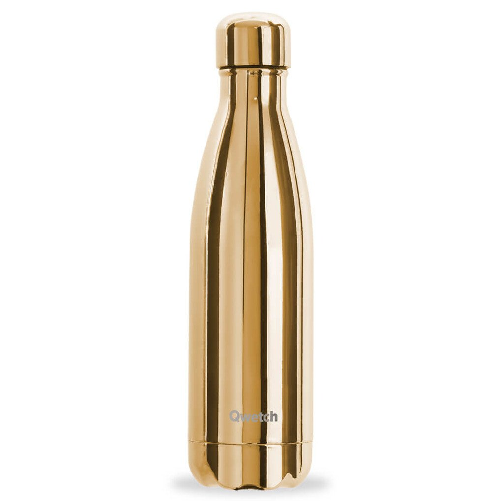 Bottiglia Termica Metallic Gold 500 ml in acciaio inox
