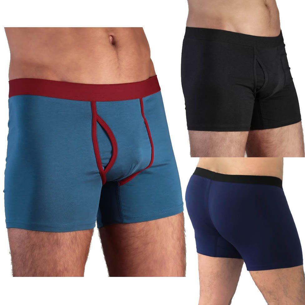 Boxer Shorts con apertura in cotone biologico