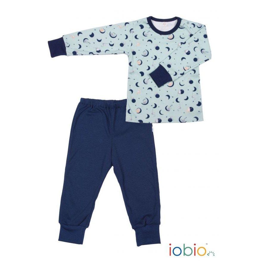 Pyjama Popolini Moon and Star in organic cotton