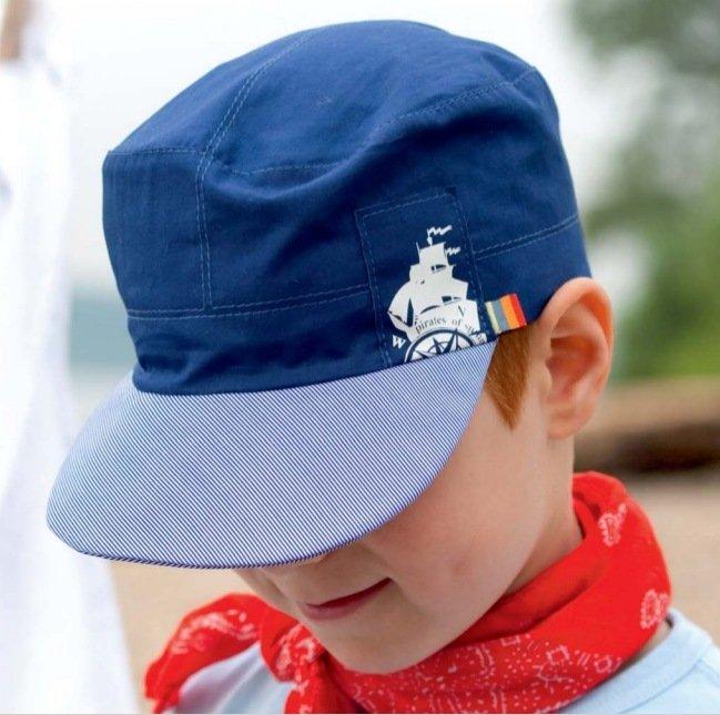 Boy summer hat in organic cotton