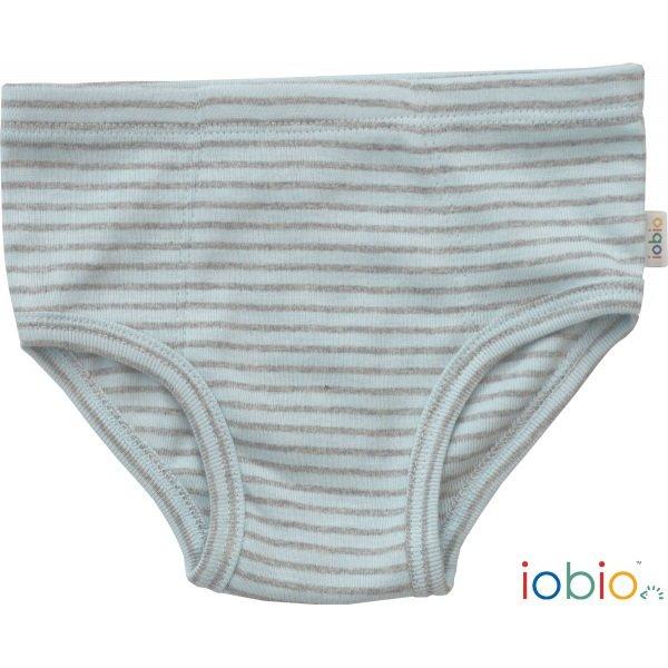 Boys briefs striped in organic cotton