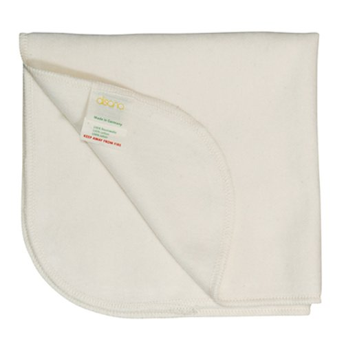Brushed organic cotton blanket Disana