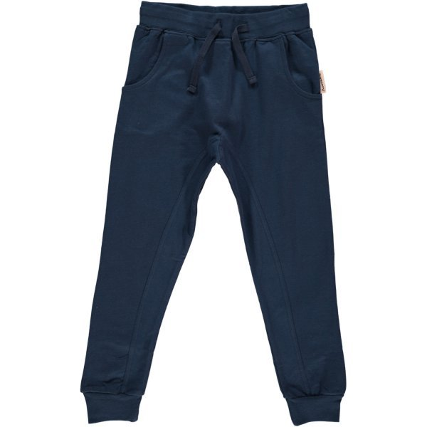 Buggy pants navy Maxomorra in organic cotton