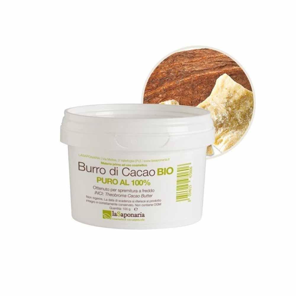 Burro di cacao puro al 100%