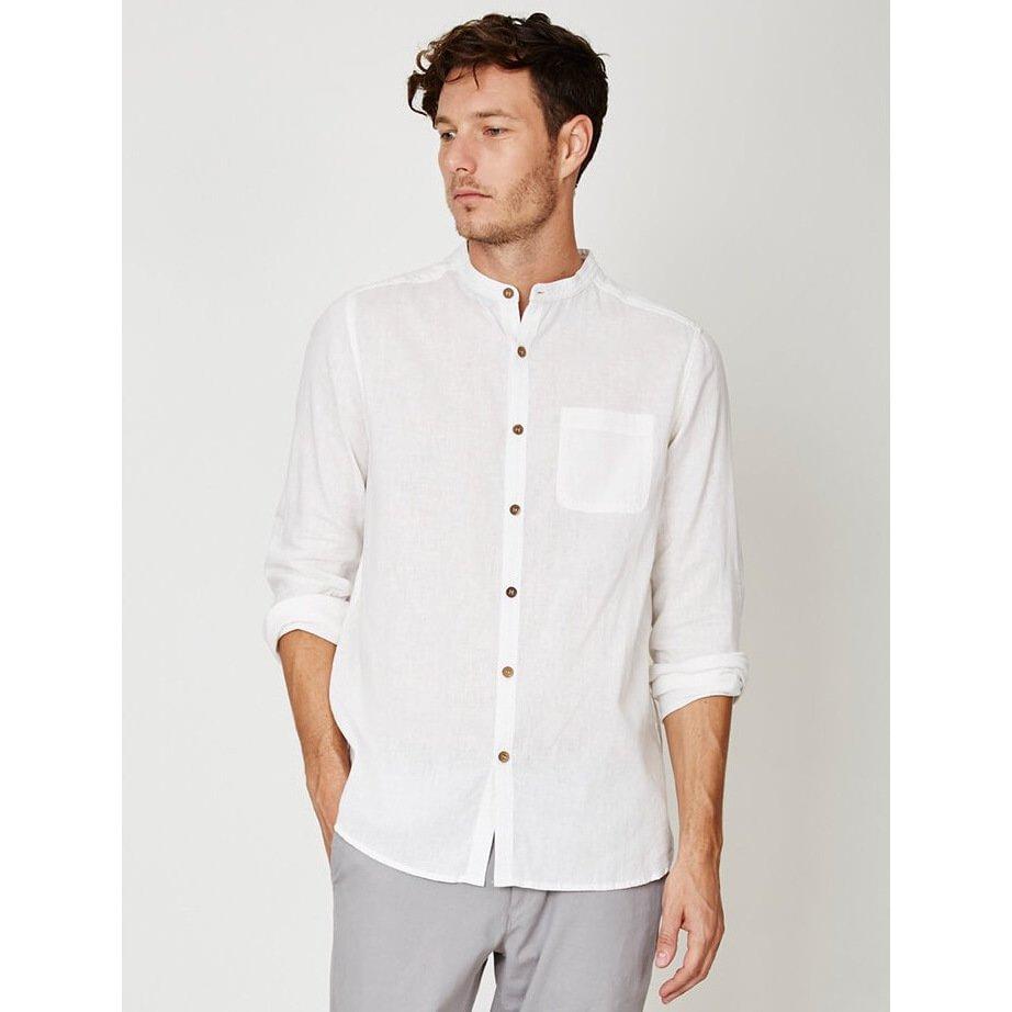Camicia Coreana Olsten in canapa