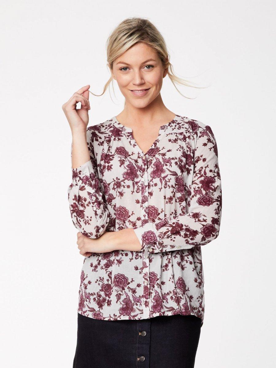 Camicia Pavanne in Cotone Biologico