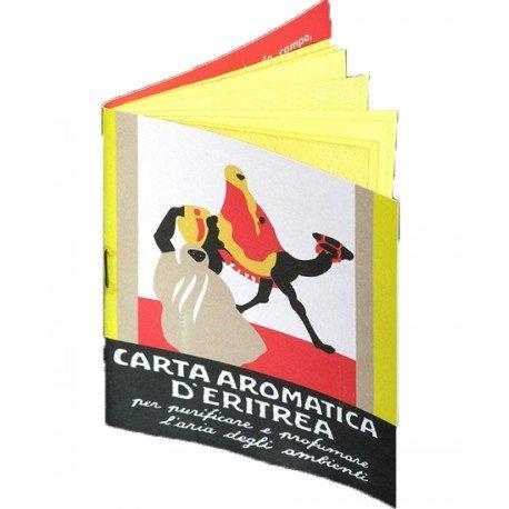 Carta Aromatica d'Eritrea Libretto 24 listelli
