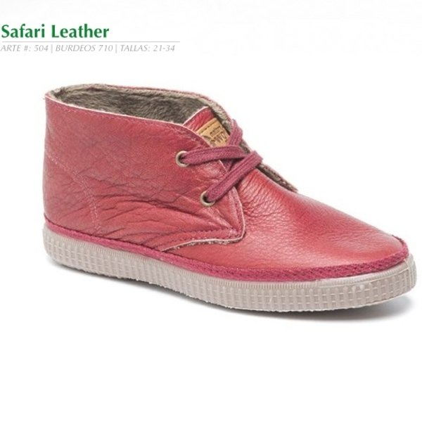 Children Safari  in ecological leather